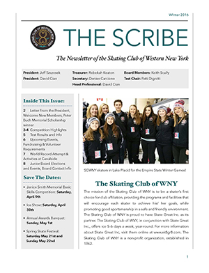 Winter 2016-1017 Scribe Now Available!